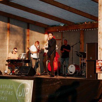 Andris Ērglis un Lauris Amantovs Jazz Quarter